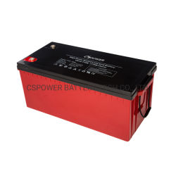12V 220Ah Alta Taxa Livre de Manutenção da Bateria Bateria de armazenamento de energia