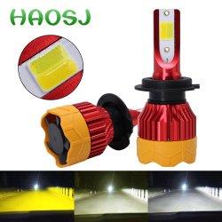 De Uitrusting 4300K van de nieuwe LEIDENE van Canbus van de Kleur van het Product K5 Drie H4 H7 Koplamp van de Auto Toebehoren van de Auto van de Bollen van 8000K 10000lm H1 H3 H11 9005 Hb3 9006 Hb4 H8 6000K