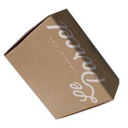 Caixa personalizado de papel revestido de baixo preço bom serviço Caixa de papelão ondulado para Transporte
