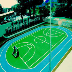 طلاء السطح PVC Plastic Vinyl Futsal and Soccer Court