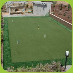 Em relva artificial para o Campo de Golfe putting green