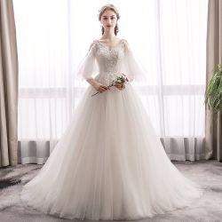 2020 новых волшебная стиле шифона платье свадьбы цвета слоновой кости