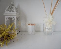 Duftende Kerze mit keramischem Kerze-Glas und Zoll-Pfosten-Kerze