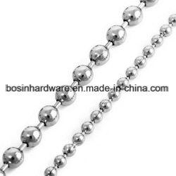 鋼鉄ニッケルによってめっきされる金属のビードの球の鎖