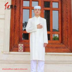 人の長い袖のThobeイスラム教の中東のサウジアラビアのKaftanのイスラム教のAbayaの服のドバイローブ