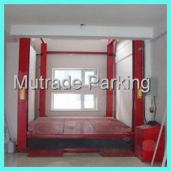 Billig 4 Pfosten-Fußboden, zum der hydraulischen Auto-Aufzug-Höhenruder-Vertikale-Förderanlage auszubreiten