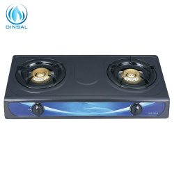 Zwei Brenner-Gas-kochender Ofen (DS-GSN210)