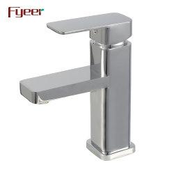 Fyer رخيص نحاس كروم مربع الحمام حوض الحنفية