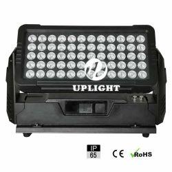 IP65 для использования вне помещений Водонепроницаемый светодиодный индикатор 60X10W RGBW DMX LED шайбу