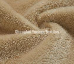 Super Soft Polar Fleece Fabric Bond with Synthetic Suede Fake 모피