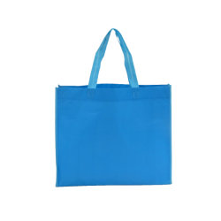 Laminación Nonwoven Paquete reutilizables Bolsa de compras con costura artesanal fresadora