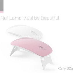 Lampada UV polacca di trattamento del gel LED di uso del salone del chiodo mini