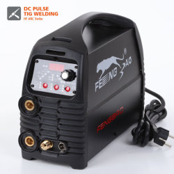 220 V CA monofásica de 200 amp inversor IGBT Pulso DC TIG Soldador de la máquina de soldadura de arco de MMA