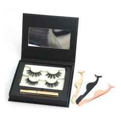 Ultra Schönheitflüssiger Eyeliner-magnetische magnetische Wimpern 3D mit Paket