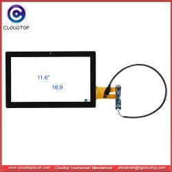 "Pantalla táctil capacitiva de 11,6"" con el controlador de interfaz USB Ilitek2302"
