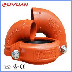 Montaje del tubo ranurado de hierro dúctil para la Protección Contra Incendios