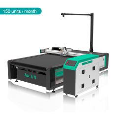 Banheira de venda de equipamento da máquina de corte CNC com cortador de vibração para material de couro /vestido/sapatos/mala Fornecedor da China