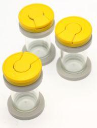 De steriele en Beschikbare Container van het Specimen met Geel GLB