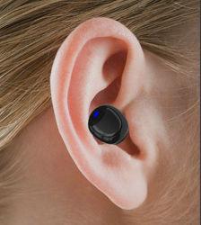Geben freies BeispielstereoHandy-Kopfhörer-zusätzliche Minihände Kopfhörer-Kopfhörer für Telefon, Lautsprecher frei