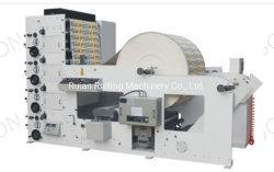 Digitaldrucker-Kennsatz-Papier Flexo Drucken-Maschine mit aufschlitzender Maschine für Farbe 3