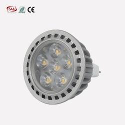 3W 5W 6W AC180-240V MR16 GU10 LED Spotlight de plafond
