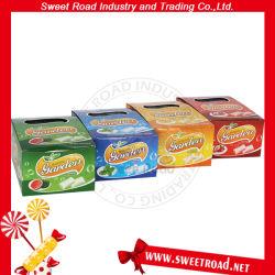 10PCS de knapperige Kauwgom van de Aroma's van het Fruit van de Tuin Energie Gemengde Goedkope (Sinaasappel/Aardbei/Watermeloen/Munt)/Kauwgom in de Doos van de Vertoning