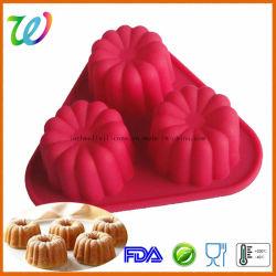 Fabbrica che vende la muffa antiaderante di schiocco della torta di Luli ma del silicone
