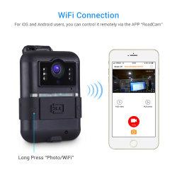 바디에 의하여 착용되는 WiFi 디지탈 카메라 HD 1296p 감시 카메라 야간 시계 비데오 카메라 방수 IP66