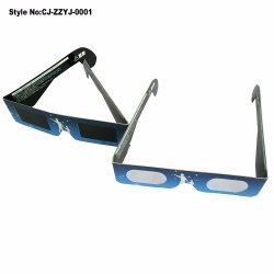 Специализированные печатные бумаги 3D дифракционного картонных очках