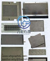 Piatto della grafite del carbonio di elevata purezza della grafite di pressatura isostatica
