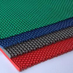 Venta de fábrica China de PVC 100% impermeable S O Z Baño malla alfombrilla de drenaje en rollos para la zona húmeda