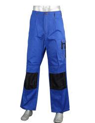 Comercio al por mayor ropa de trabajo Bi-Color Duable pantalón con la rodilla