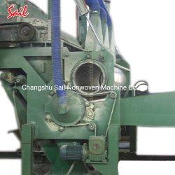 Nonwoven綿のファイバーの空気によって置かれる梳く機械