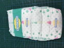 Produits pour bébé 100% coton Premium couches pour bébés jetables sur la vente