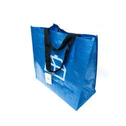BOPPによって薄板にされるショッピング・バッグ再使用可能な再生利用できるPPの物質的な戦闘状況表示板によって編まれるショッピング・バッグ