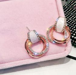 ヨーロッパ様式の女性のBeautiful Earrings熱い方法イヤリングの宝石類の偶然の女性