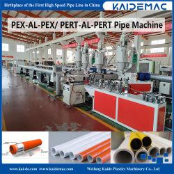 Plástico multicapa Pert al tubo de aluminio máquina de hacer Pert / Pex tubo de aluminio máquina de producción Capa 5 / Pex Pex al tubo de aluminio de plástico de la máquina de extrusión