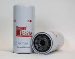 ディーゼル機関の円滑油の石油フィルターの要素Lf691 /Lf691A、LFP4005