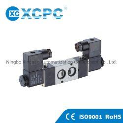 Fabricant de pneumatiques de la Chine fournisseur Xcpc 4V-Type de plaque de la série B bobine double commande du solénoïde de soupape d'air