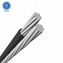 Alumínio Termorresistente XLPE/com isolamento de PVC de Baixa Voltagem Serviço Duplex de Cabo