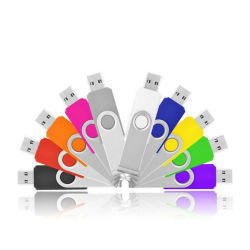 Factory Direct Wholesale Swivel Classic USB Flash Drive-etuis in Bulkpakket zonder fiches