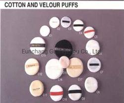 Cinta de algodón de la herramienta de artefactos de maquillaje en polvo suelto suelto Powder Puff Puff compacto