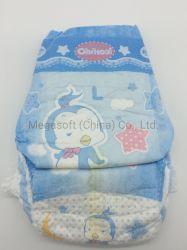 Surround Topsheet suave cintura elástica ultra delgado papel Sap Ce excelente absorción Pañales Megasoft
