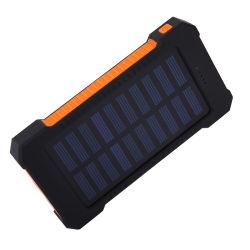 Wasserdichte bewegliche Bank-Aufladeeinheit der Sonnenenergie-6000/8000/10000mAh für Smartphones