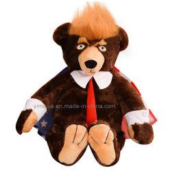 Venda a quente 62cm recheado animais Brinquedos Kids Natal Presente de Ano Novo Pavilhão Nacional EUA Presidente Plush Trumpy ostentar