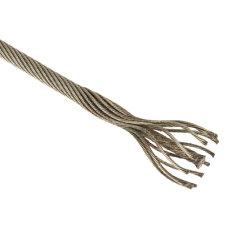 新しい100%高品質8*19s+FCのエレベーターの鋼線ロープ