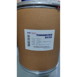 Qualità superiore, sbiancamento e punto luce, acido transexamico CAS: 1197-18-8 buona stabilità, facile da assorbire, alta sicurezza, Raw cosmetico