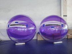 O PVC Roxo água insufláveis pouca bola melhor vendendo água bola de cristal para venda