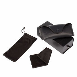 L'abitudine ha stampato l'imballaggio di cuoio degli occhiali da sole dell'unità di elaborazione di Luxtry fissato accessori duri della cassa degli occhiali da sole