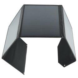 شاحن مخصص قابل للطي على اللوحة الشمسية عالي الجودة ومقاوم للماء مع USB كابل منفذ Mc4